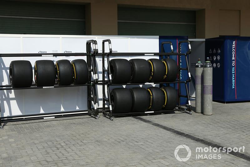 Williams Pirelli-banden