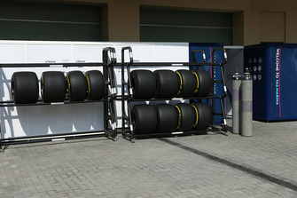 Williams Pirelli tyres
