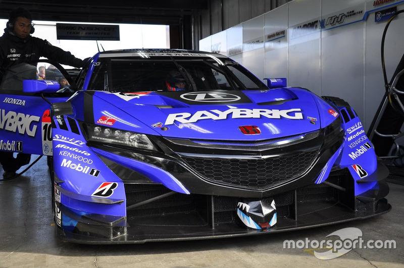 Дженсон Баттон, №100 RAYBRIG NSX-GT