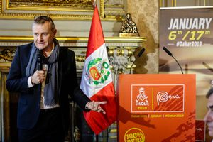 Dakar race director Etienne Lavigne