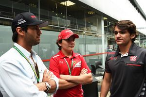 Felipe Nasr, Enzo Fittipaldi and Pietro Fittipaldi
