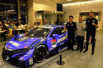 Kunimitsu Takahashi, Naoki Yamamoto, Jenson Button-#100 RAYBRIG NSX-GT
