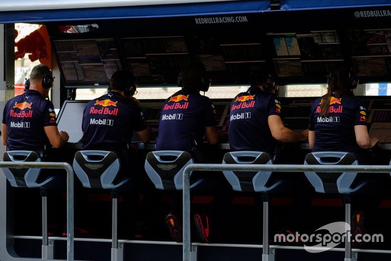 Red Bull Racing RB14 team