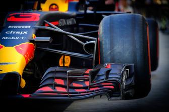 L'aileron avant de Red Bull