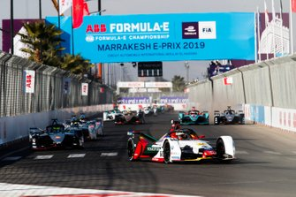 Daniel Abt, Audi Sport ABT Schaeffler, Audi e-tron FE05, Oliver Rowland, Nissan e.Dams, Nissan IMO1