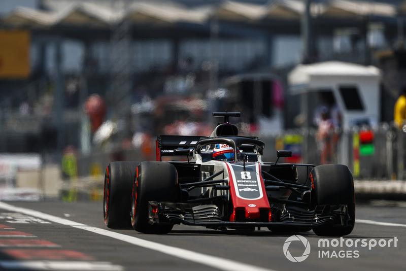Romain Grosjean - Haas F1 Team: 6 puan
