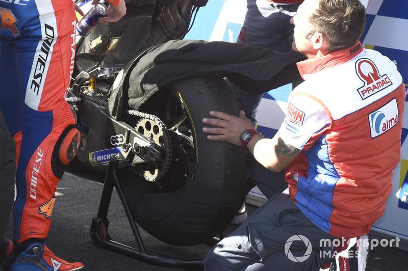 Jack Miller, Pramac Racing, neumático