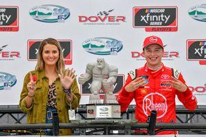 Race winner Christopher Bell, Joe Gibbs Racing, Toyota Camry Rheem