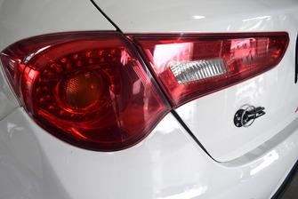 Alfa Romeo Giulietta TCR, dettaglio del fanale posteriore