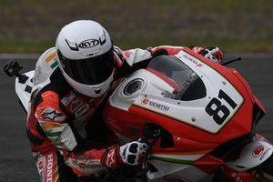 Anish Shetty, Idemitsu Honda Racing India by T.Pro Ten10