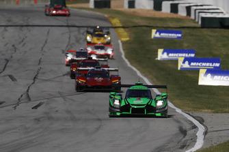 #22 Tequila Patron ESM Nissan DPi, P: Pipo Derani, Johannes van Overbeek, Timo Bernhard leads