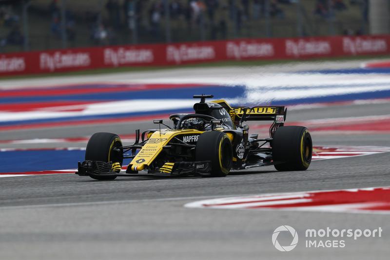 Nico Hulkenberg - Renault Sport F1 Team: 10 puan