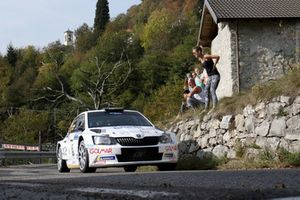 Domenico Erbetta, Valerio Silvaggi, Skoda Fabia R5, GDA Communication