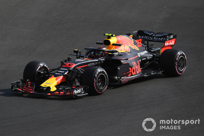 35. El RB14 de Red Bull Racing de 2018