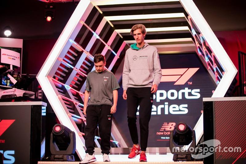 Brendon Leigh, Daniel Berznay, Mercedes eSports