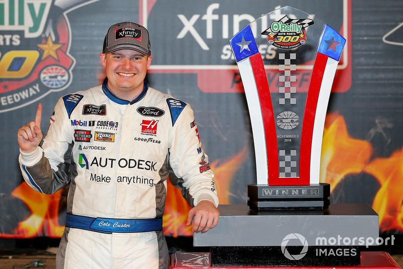 15. NASCAR Cup: Cole Custer na Stewart-Haas Racing