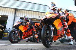 Antonelli en Bo Bendsneyder, Red Bull KTM Ajo