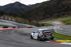 #308 Team Altran Peugeot Peugeot 308 Racing Cup: Thierry Blaise, Kim Holmgaard, Michael Carlsen, Mathieu Sentis