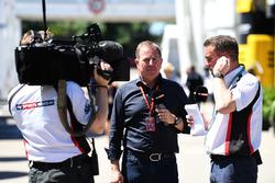 Martin Brundle, Sky TV y Craig Slater, Sky TV