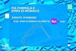 ePrix di Monaco, la locandina RAI