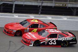 Brandon Jones, Richard Childress Racing Chevrolet and Ross Chastain, JD Motorsports Chevrolet