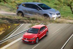 Volkswagen polo vs seat ibiza