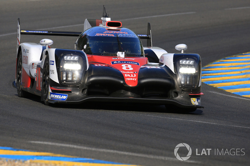 2. LMP1: #8 Toyota Gazoo Racing, Toyota TS050 Hybrid