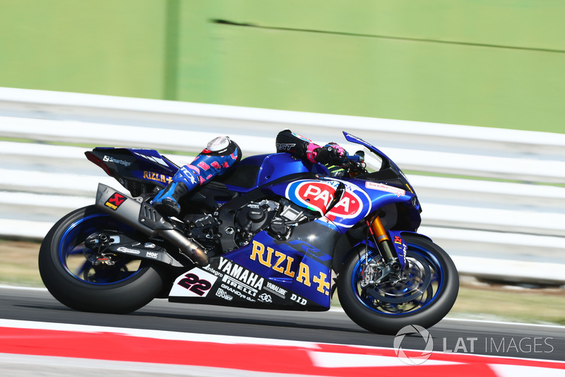 Alex Lowes, Pata Yamaha