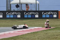 Lorenzo Dalla Porta, Aspar Team crash