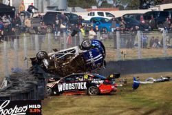 Todd Hazelwood, Brad Jones Racing crash