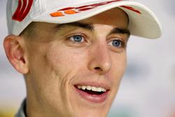 Press Conference, Jake Hughes, Hitech Grand Prix, Dallara F317 - Mercedes-Benz