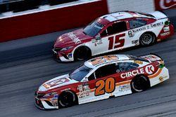 Matt Kenseth, Joe Gibbs Racing Toyota, Reed Sorenson, Premium Motorsports Toyota