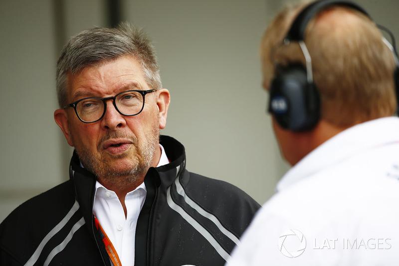 Ross Brawn, Managing Director del Motorsports, FOM