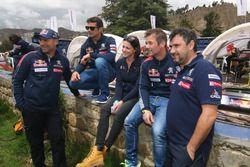 Stéphane Peterhansel, Cyril Despres, Sébastien Loeb, Daniel Elena, Peugeot Sport
