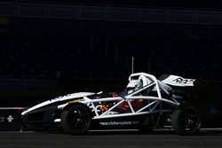 Sebastian Vettel driving the Ariel Atom Cup