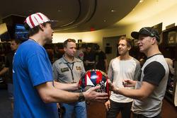 Travis Pastrana, Sebastian Vettel et Petter Solberg