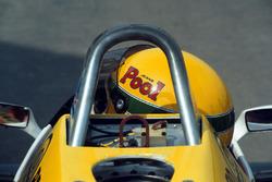 Ayrton Senna, prepares to make his first run in the Williams FW08C