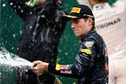 Podium : le troisième, Max Verstappen, Red Bull Racing