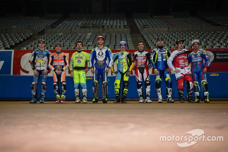 Gruppenbild aller Fahrer