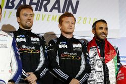 LMGTE Am Podium: first place #88 Proton Racing Porsche 911 RSR: Khaled Al Qubaisi, David Heinemeier