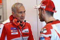 Andrea Dovizioso, Ducati Team, Davide Tardozzi, Team Principal Ducati Team