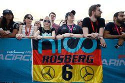 Fans of Nico Rosberg, Mercedes AMG F1