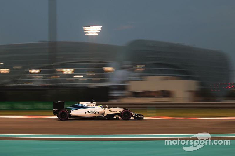 Falando em 'goleada', Massa foi batido em larga escala por Bottas: 17 a 4. O brasileiro, entretanto, superou o finlandês em Abu Dhabi.