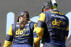 Podium Sieger Australian: Molly Taylor, Bill Hayes, Subaru Impreza WRX STI