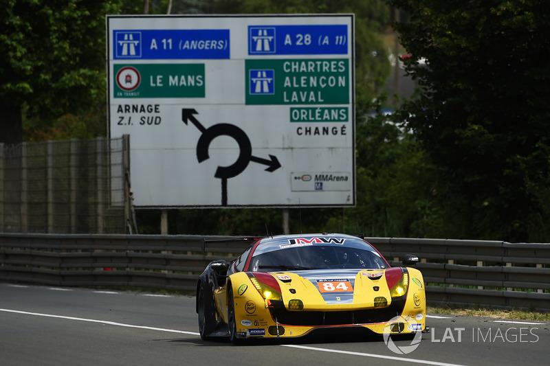 Победители GTE Am: JMW Motorsport Ferrari 488 GTE №84