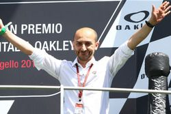 Podio: Claudio Domenicali, Ducati