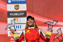 Fabienne Wohlwend, Octane 126 sul podio