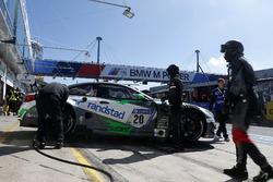 #20 BWM Team Schubert Motorsport, BMW M6 GT3: Jörg Müller, Bruno Spengler, Jesse Krohn, Kuno Wittmer