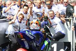 Winner Maverick Viñales, Yamaha Factory Racing