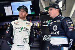 Blake Koch, Kaulig Racing Chevrolet e Brennan Poole, Chip Ganassi Racing Chevrolet